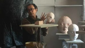 vancouver sculptor geemon xin meng teaching sculpture class